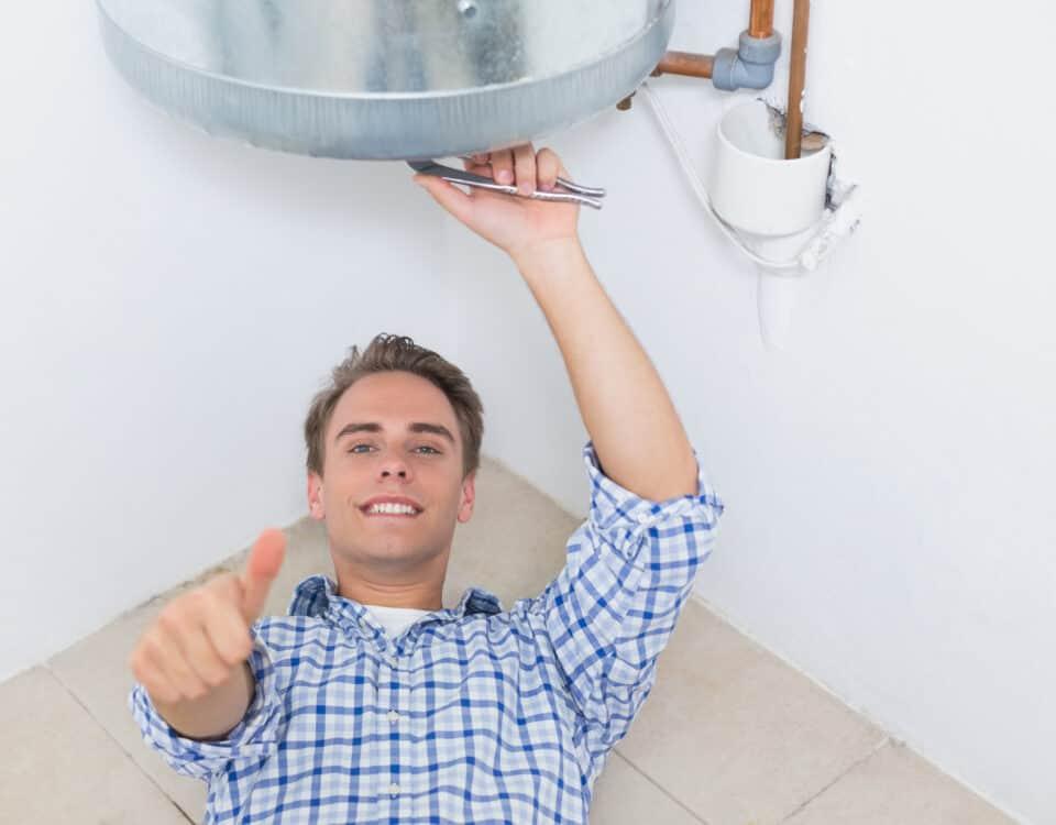 installare scaldabagno a gas