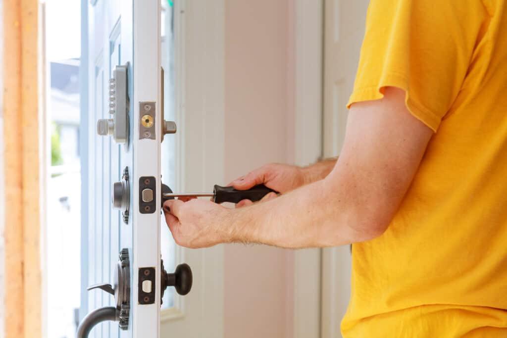Sostituire chiave porta blindata