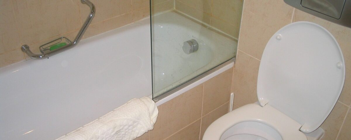 WC intasato da oggetti